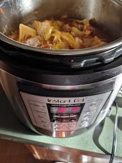 low carb cabbage soup instant pot