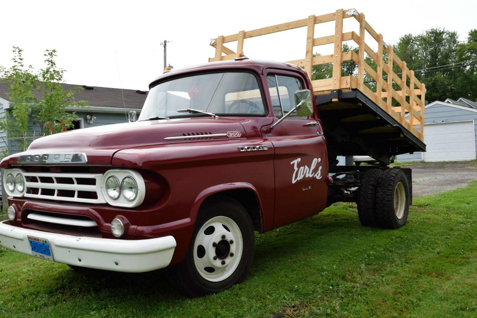 All American Classic Cars: 1959 Dodge D300 Truck