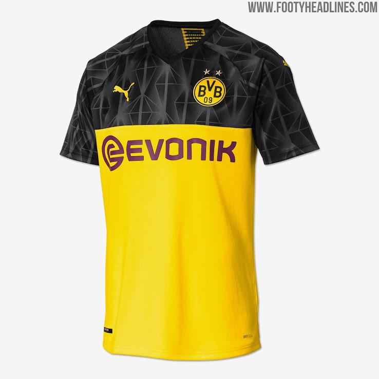 new concept 43437 e26cb Borussia Dortmund 19-20 Champions League Kit Released ...
