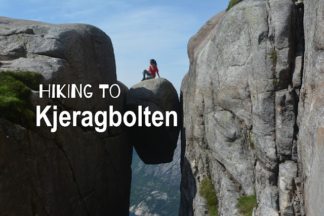 Hiking to Kjeragbolten