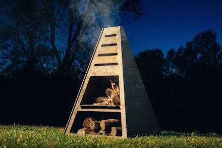 Der Blaze Fire Tower | So muss ein perfekter Outdoor Kamin sein