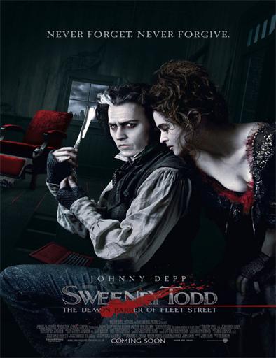 ver Sweeney Todd: El barbero demoníaco de la calle Fleet (2007) Online