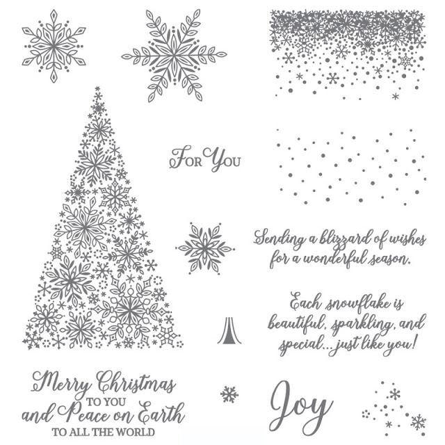 Snow Is Glistening by Stampin Up