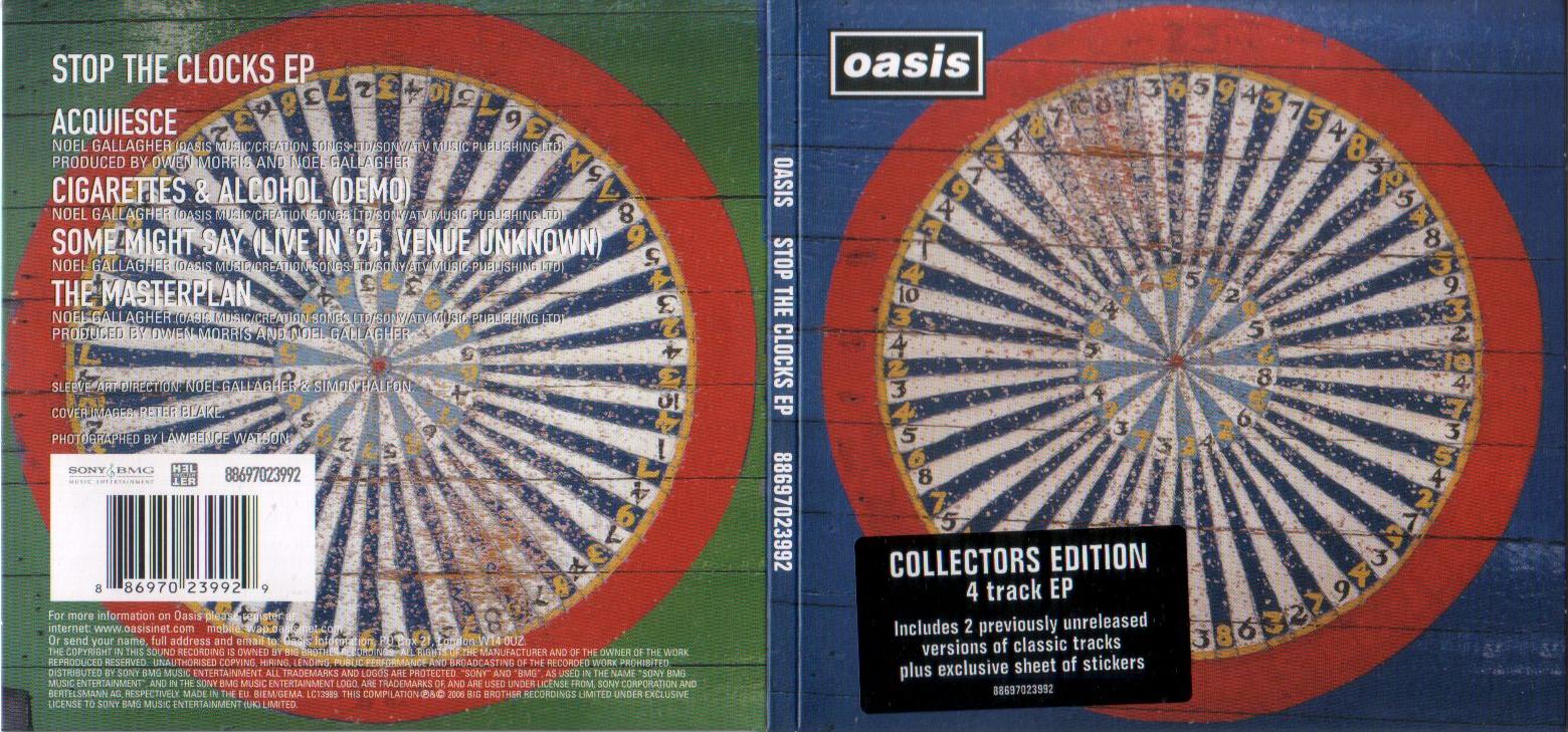Oasis Stop The Clocks Ep Blog Di Stefano Fiorucci