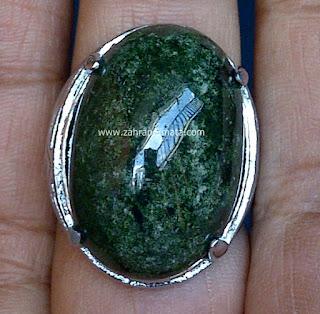 Cincin Batu Permata Ijo Lumut - ZP 493