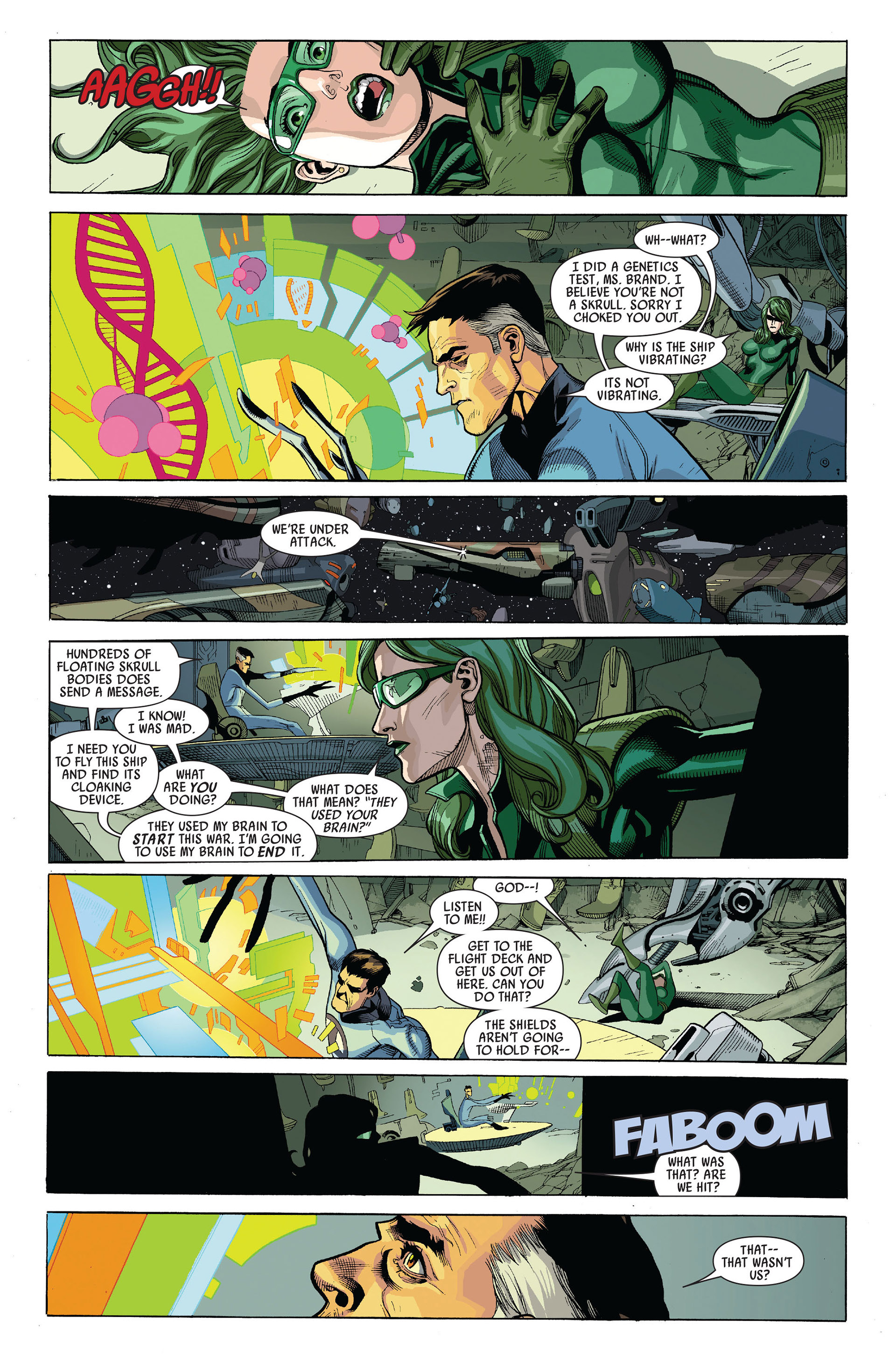Read online Secret Invasion comic -  Issue #5 - 15