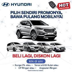 Promo HOT Hyundai akhir tahun