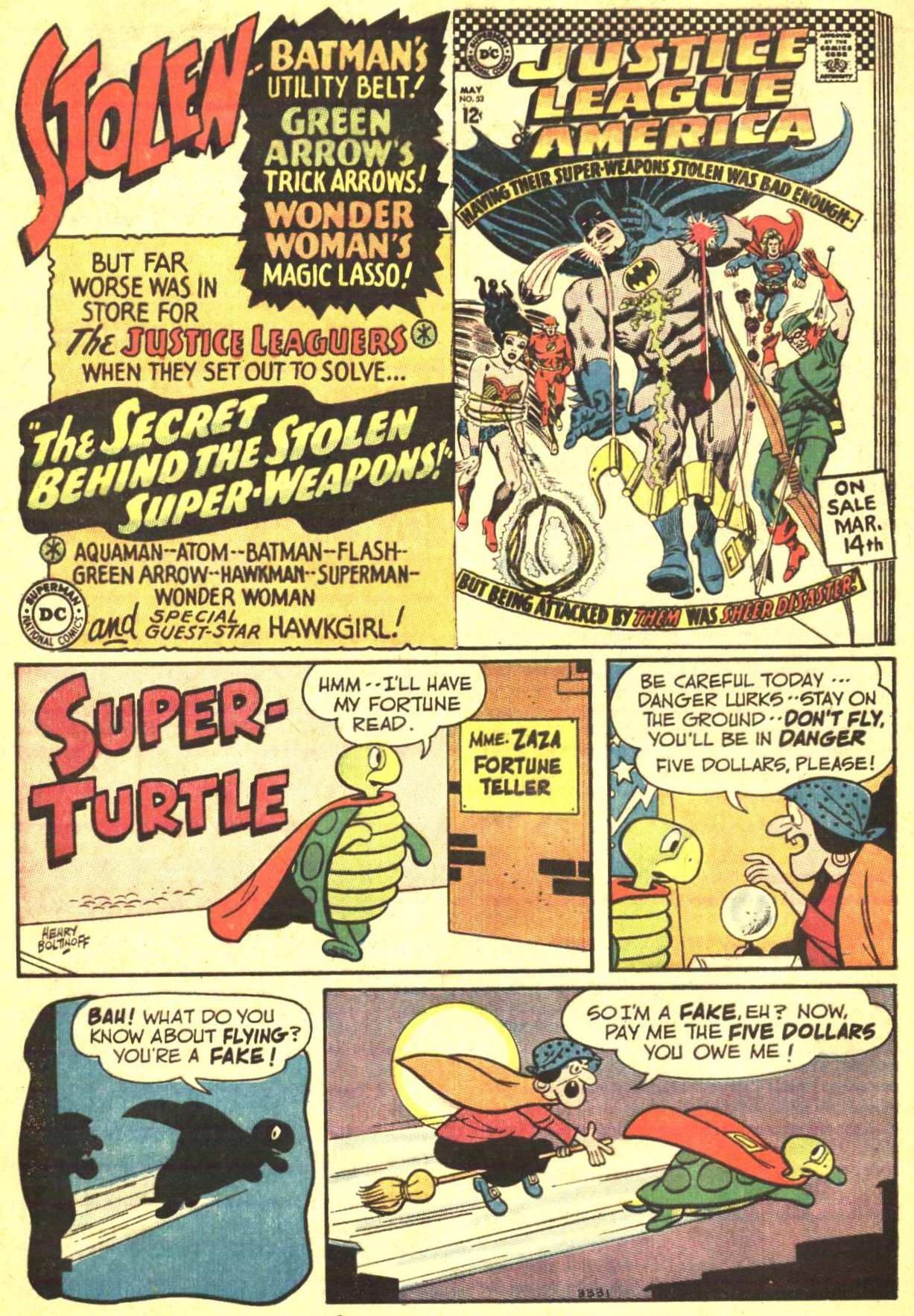Read online World's Finest Comics comic -  Issue #166 - 32