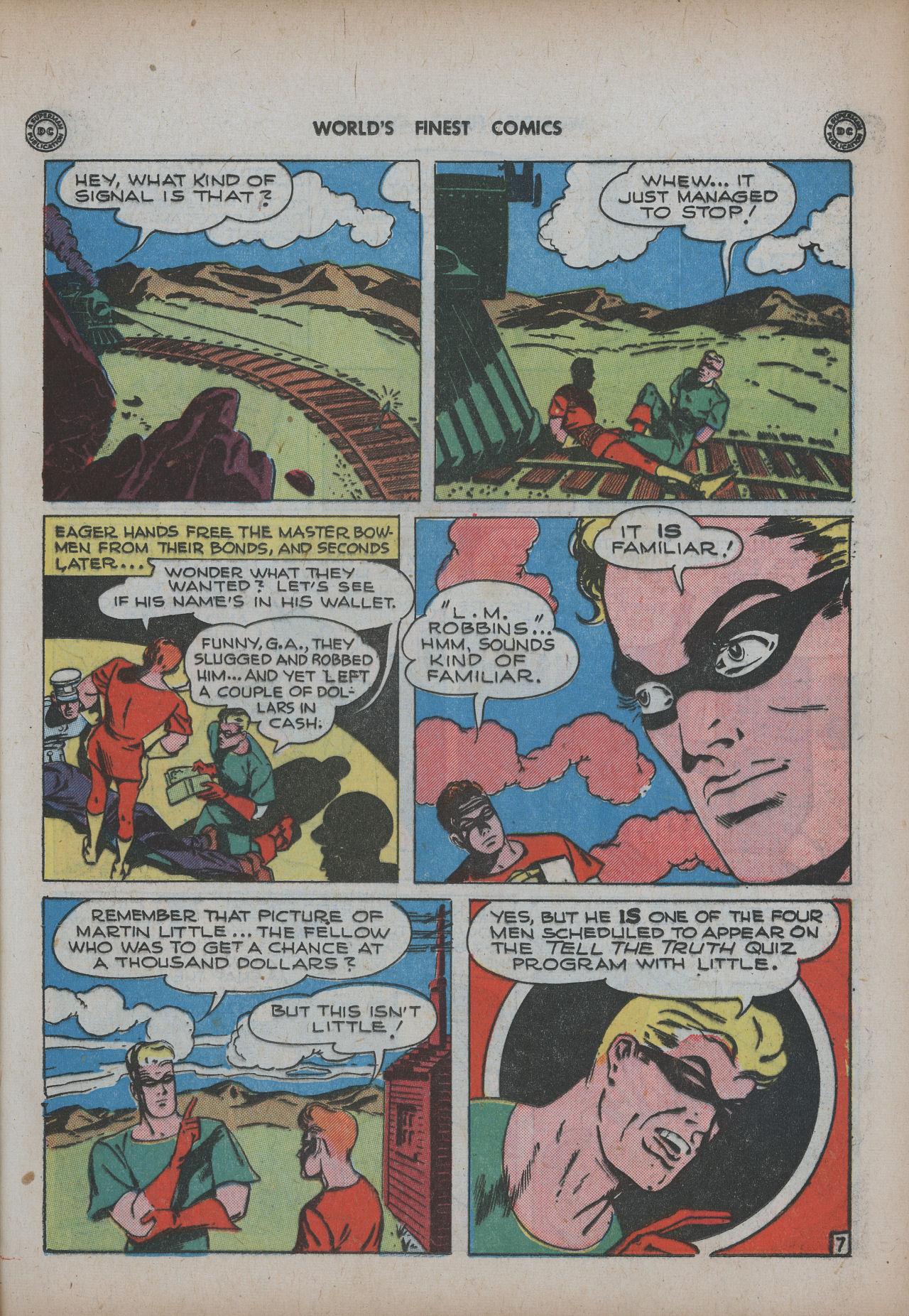 Read online World's Finest Comics comic -  Issue #20 - 23