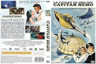 Carátula dvd: La ciudad de oro del capitán Nemo