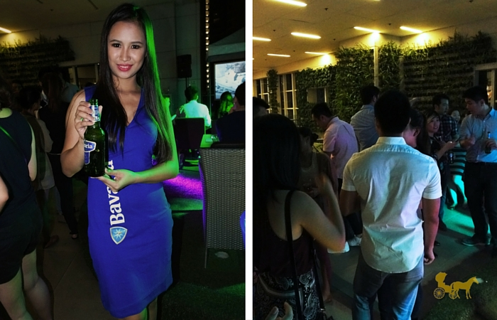 bavaria beer launch from manila with love