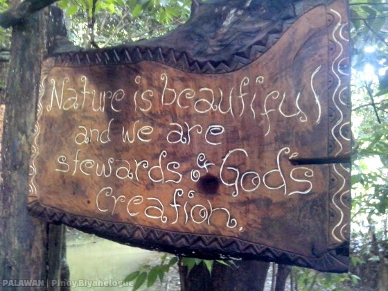 """Nature is beautiful and we are stewards of God's creation."""