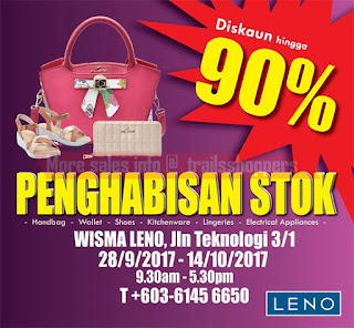 Leno Warehouse Stock Clearance 2017
