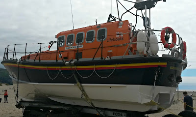 Barmouth Lifeboat Open Day - Helping the #RNLI keep #SavingLivesAtSea