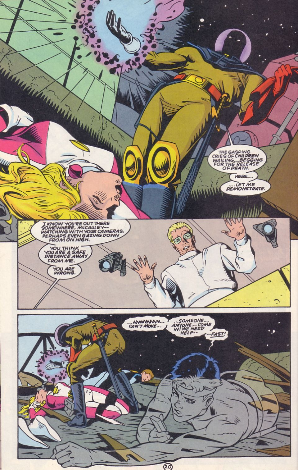 Legion of Super-Heroes (1989) 63 Page 20