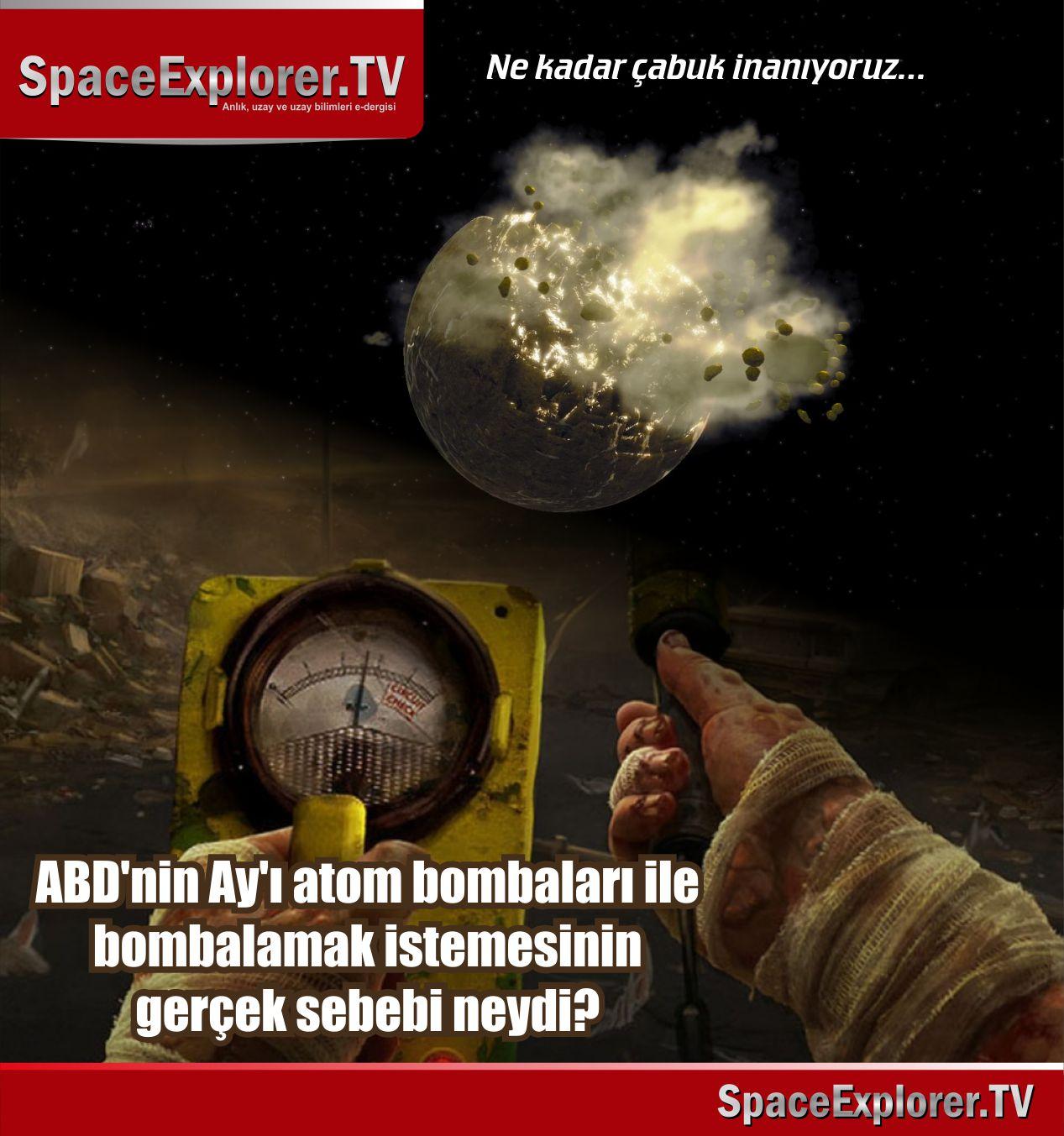 Ay, Nükleer silahlar, Sovyet uzay araştırmaları, Soğuk savaş dönemi, ABD, Gizli uzaylı üsleri, Ay'daki antik şehir, Ay'daki kadın mumyası, Mehmet Fahri Sertkaya, NASA, Rusya,