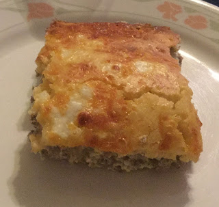 Cheeseburger casserole, good casseroles to take to a potluck, filling dishes,