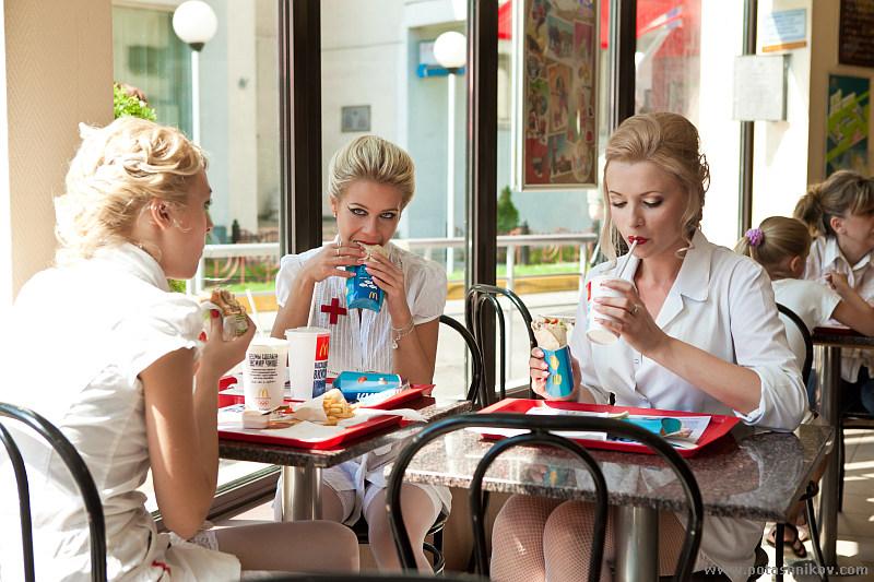 Two blonde nurses russian lesbians go crazy 7