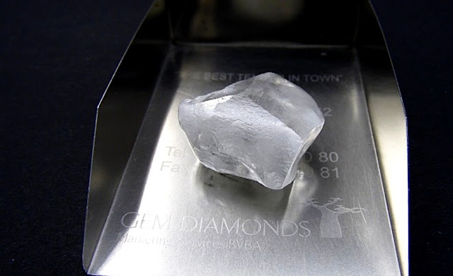Gem Diamonds Found This High-quality 80-carat Rock in Lesotho