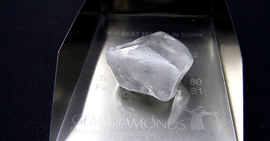 Gem Diamonds Found This High Quality 80 Carat Rock In Lesotho