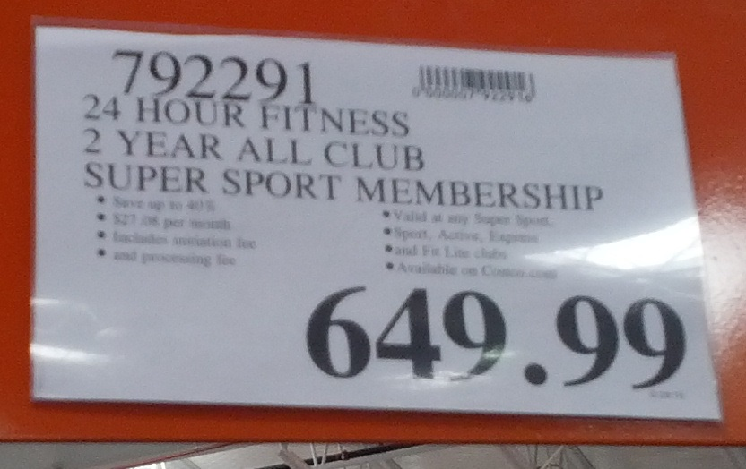Jul 08, · Costco has a good deal with the 24 Hour Fitness 2-year All Club Super Sport Membership for about $ If you had an existing 24 Hour Fitness that didn't include the Super Sport club, just adding that club would normally cost you an extra $10 a month.