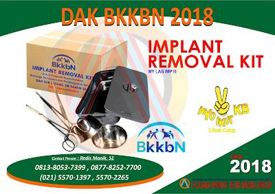 DAK BKKBN 2018, Implant Kit BKKBN 2018, Implant Kit DAK BKKBN 2018, Implant Removal Kit, Implant Removal Kit BKKBN 2018, Implant Removal Kit DAK BKKBN 2018