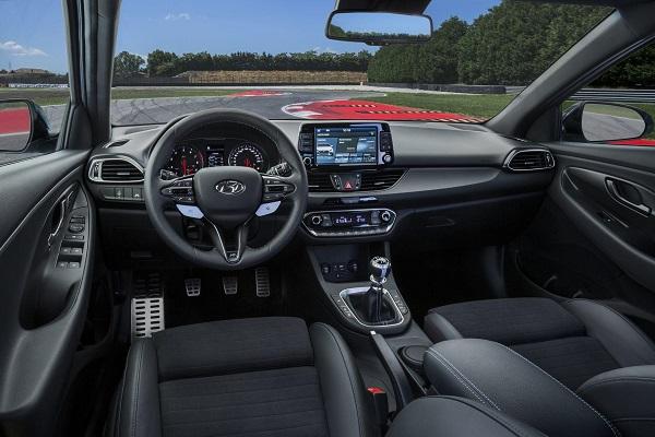 Interior Hyundai i 30 N