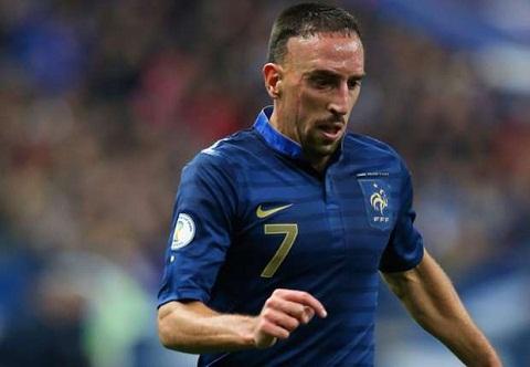 Franck Ribery vẫn không thể tham gia World Cup 2014, chấn thương không chịu tha cho anh.