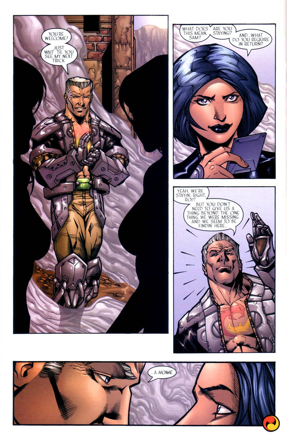 Read online Sigil (2000) comic -  Issue #9 - 23
