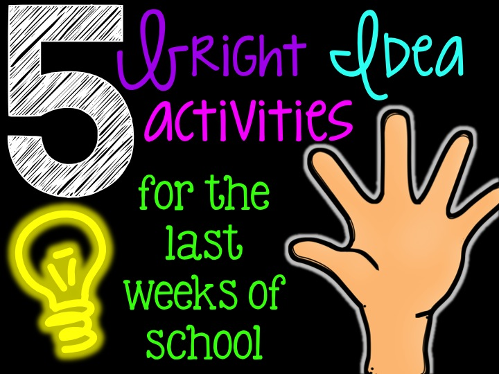 Reading Activities for the Last Weeks of School | Life in Fifth Grade