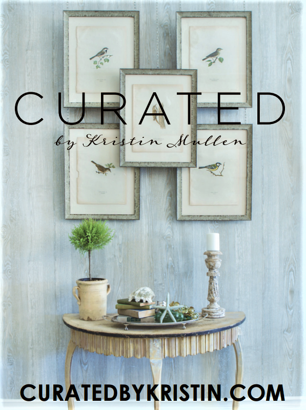 CURATED BY KRISTIN