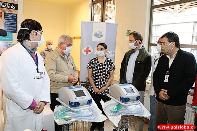 Osorno: Entregan respiradores y elementos de protección a la red asistencial