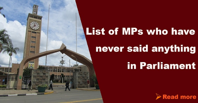 list of silent mps in parliament