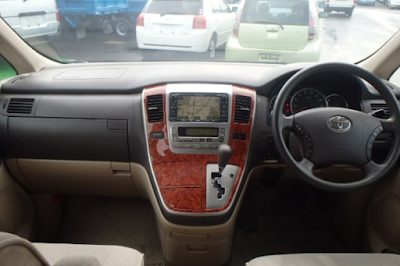 Interior Toyota Alphard Gen1 Prefacelift
