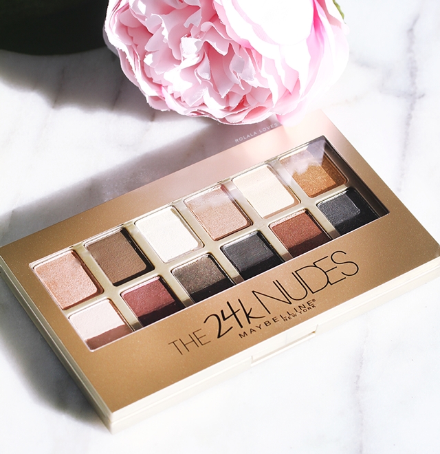Maybelline The 24K Nudes Palette Review