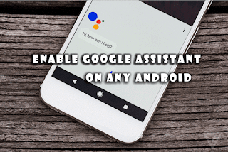 Activate Google Assistant feature on Android