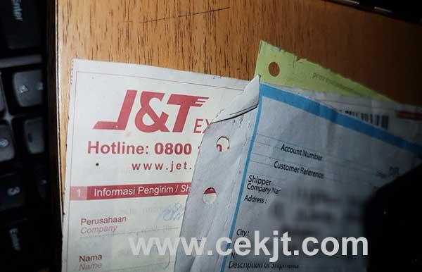 Cara Cek Nomor Resi J&T Kiriman Kab Dairi
