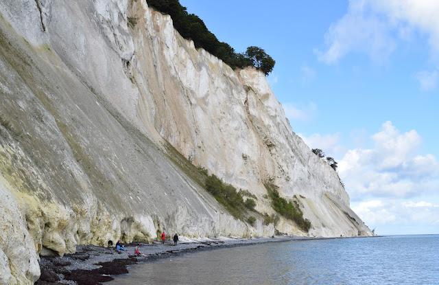 Møns Kline, white cliffs of mon, denmark