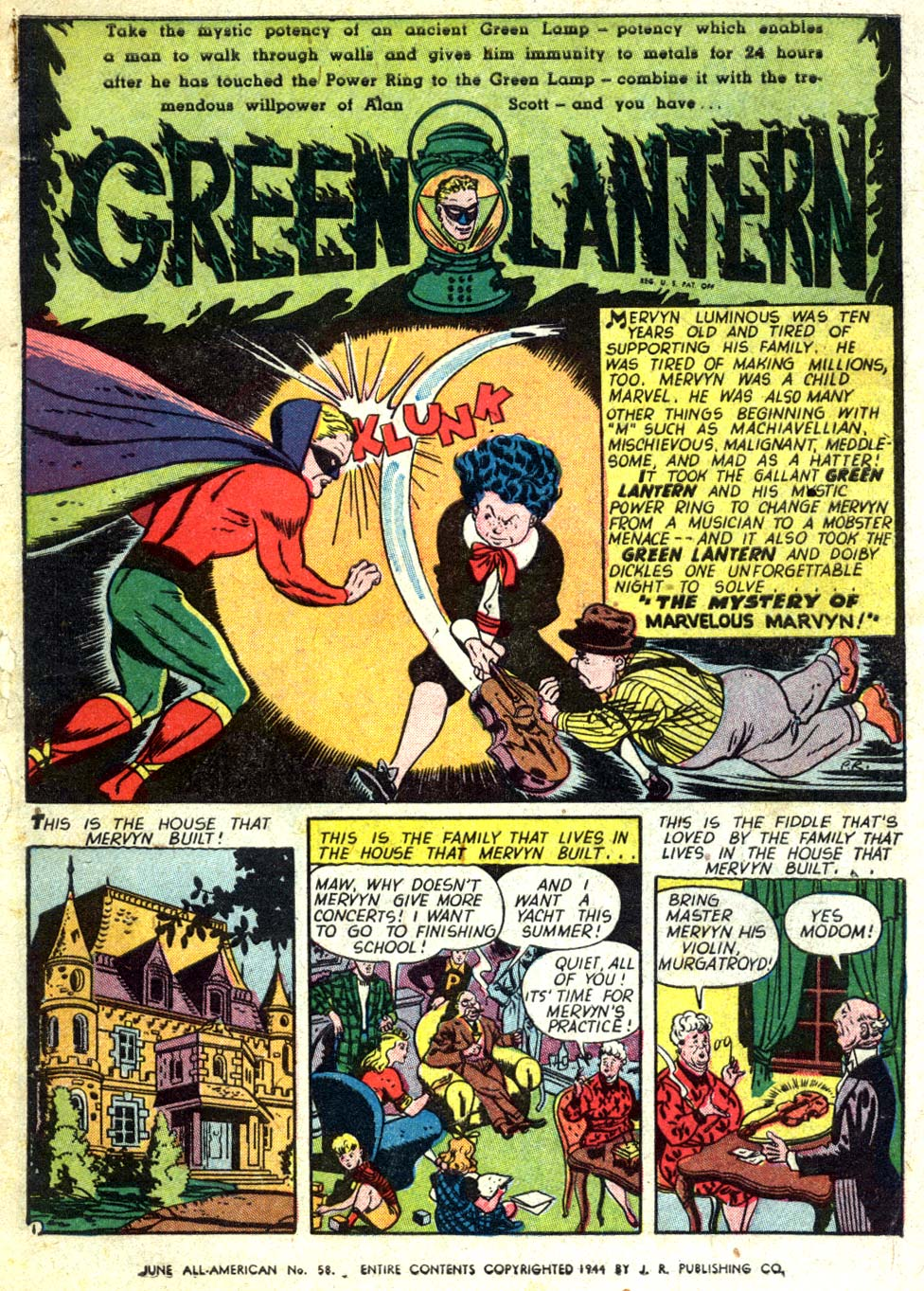 Read online All-American Comics (1939) comic -  Issue #58 - 2
