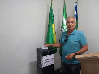 Alberto Nogueira é eleito presidente da Associação Olímpica de Itabaiana