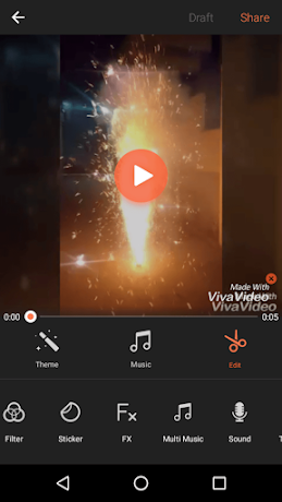 VivaVideo - Aplikasi Edit Video Gratis Terbaik Android