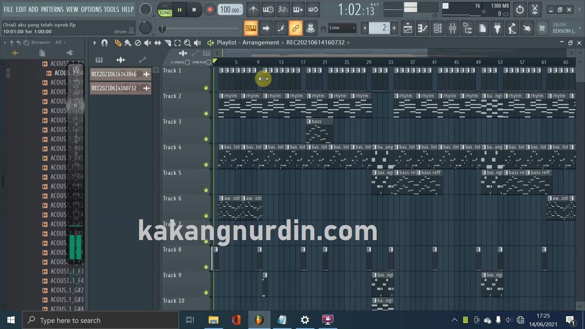 track fl studio 20 kakangnurdin.com