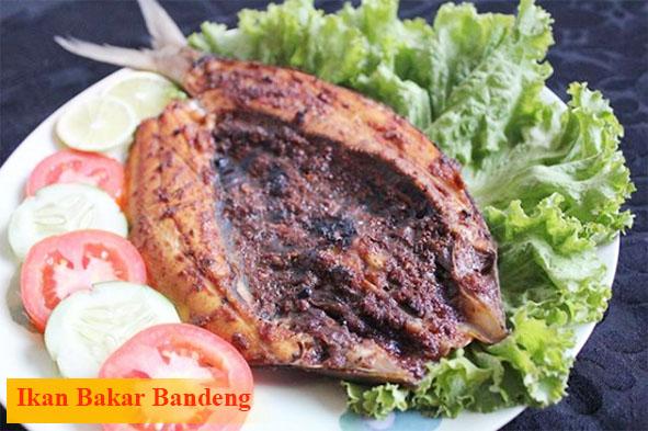 Ikan Bakar Bandeng Khas Makassar