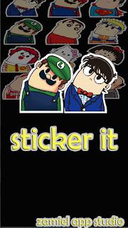 Download Aplikasi Android Menambahkan Sticker