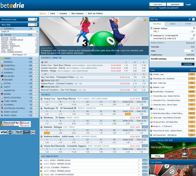 Betadria Screen