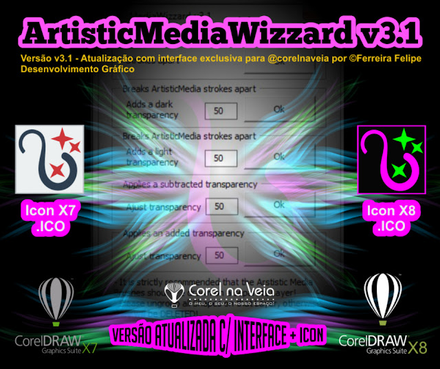 ArtistcMediaWinzzard com interface