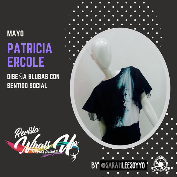 Patricia-Ercole-diseña-blusas-sentido-social