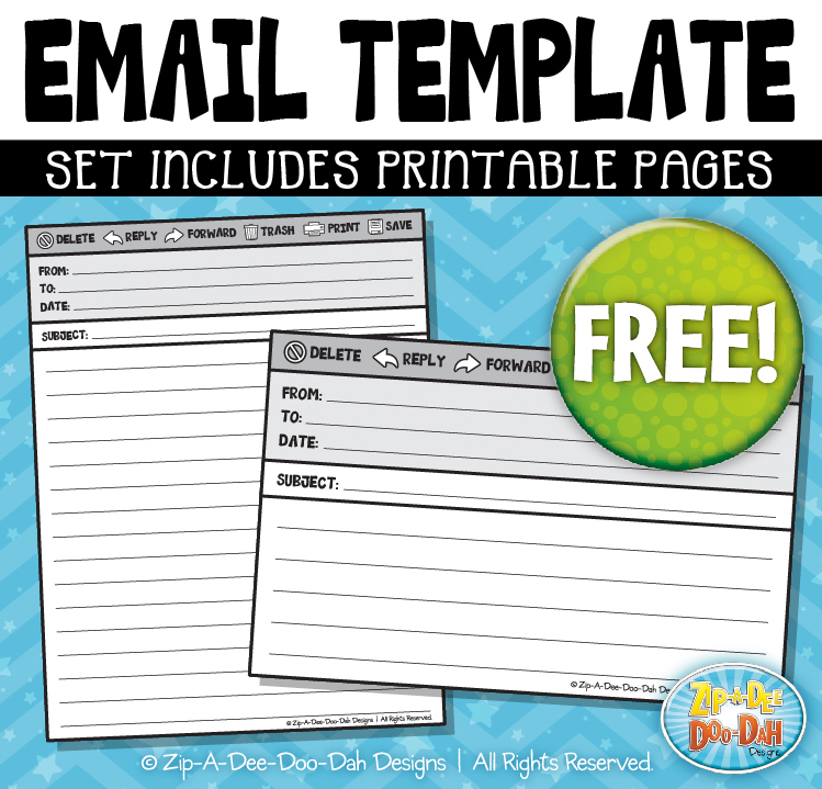 Zip-A-Dee-Doo-Dah Designs FREE Easy To Use Templates