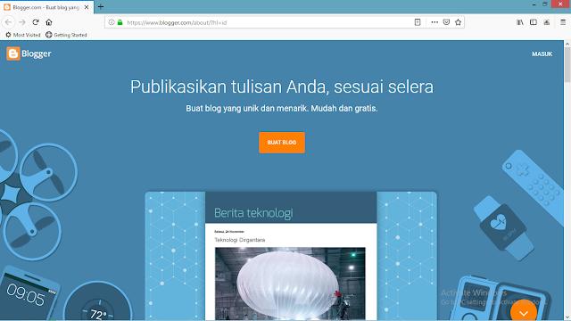 Cara Membuat Blog Baru di Blogspot / Blogger Dengan Mudah di Lengkapi Gambar