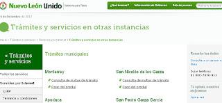 Multas en linea de automovil en Monterrey consulta gratis el adeudo 2016 2017 2018 2019